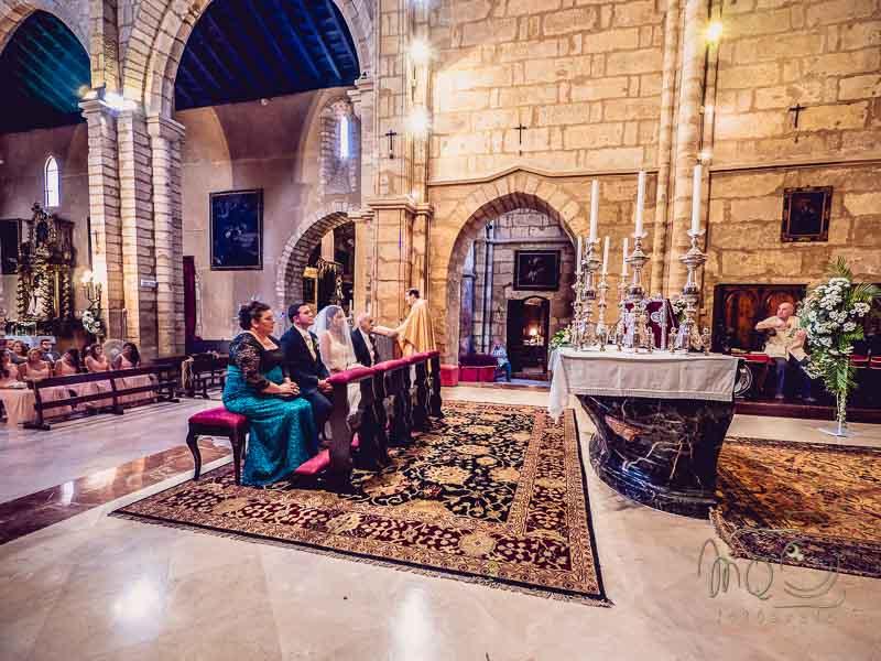 Ceremonia en la antigua iglesia San Lorenzo Mártir de Córdoba