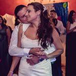 novios en su baile nupcial de la boda en cordoba