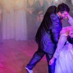 Final del baile nupcial de la boda en Utrera de Silvia y Juanma