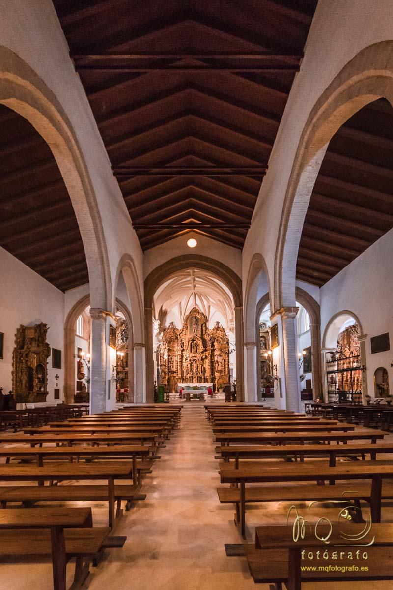 interior y cúpulas de la iglesia de San Bartolomé, Carmona