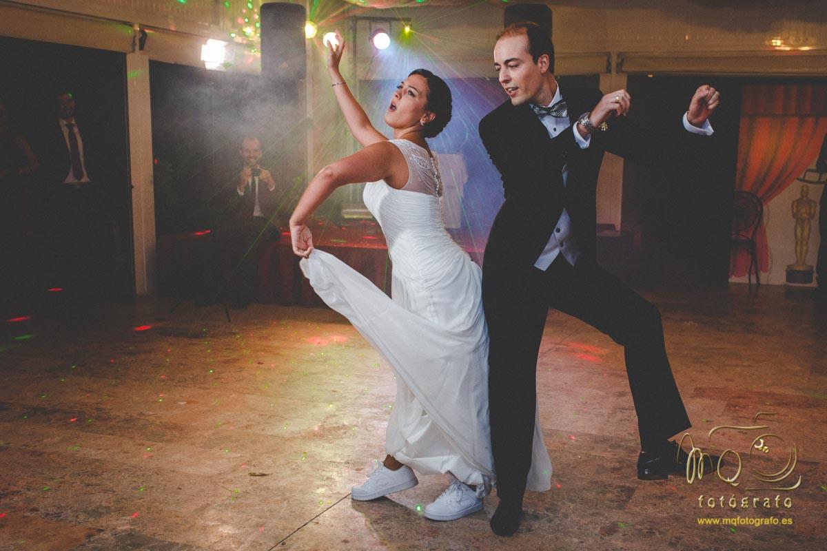 baile de novios en la hacienda Azahares 2