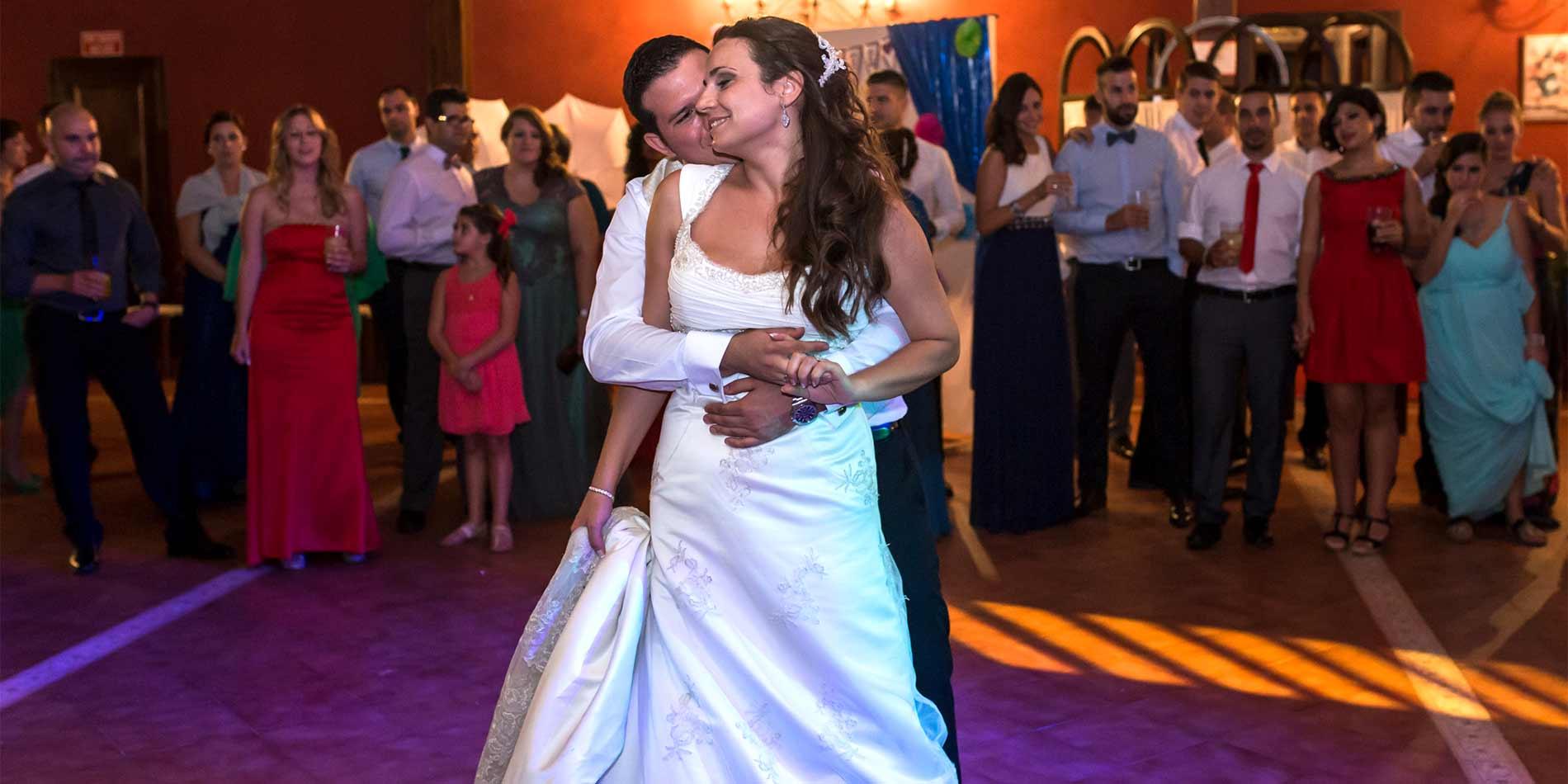 Fotógrafo de bodas, Baile nupcial de una boda en Córdoba